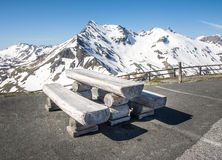 Alpine Picnic Area Stock Photography