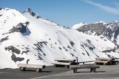 Alpine Picnic Area Stock Images