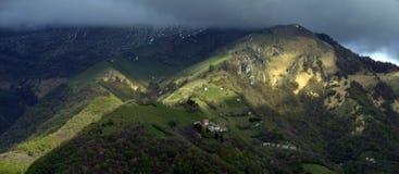 Alpine picturesque village Royalty Free Stock Image
