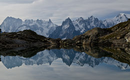 Alpine reflection Royalty Free Stock Images