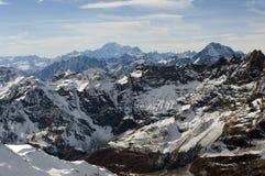 Alpine Reichweite Stockbilder