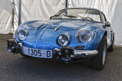 Alpine Renault Stock Photo