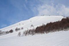 Alpine resort Royalty Free Stock Image