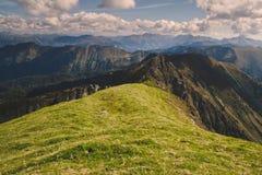 Alpine ridge Stock Images