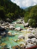 Alpine river Stock Photo