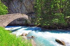 Alpine river Royalty Free Stock Image