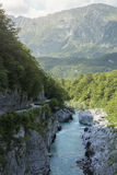 Alpine river Royalty Free Stock Photos