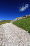 Alpine road Royalty Free Stock Photography