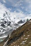 Alpine road Stock Images
