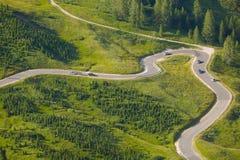Alpine Road Pass Royalty Free Stock Image