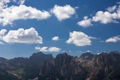 Alpine rocky mountains landscape Royalty Free Stock Photography
