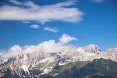 Alpine rocky mountains landscape Stock Photography