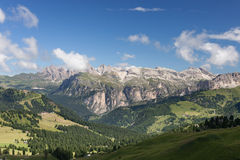 Alpine rocky mountains landscape Stock Images