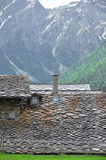 Alpine Roof Stock Photography