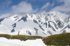 Alpine route in Japan Royalty Free Stock Photography