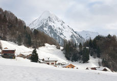 Alpine Scene, Austria Royalty Free Stock Images
