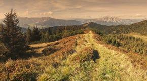 Alpine scene Royalty Free Stock Photo