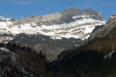 Alpine Scene, France Royalty Free Stock Photo