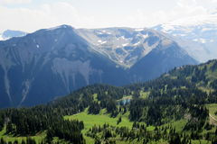 Alpine Scene in the Pacific Northwest Royalty Free Stock Photography