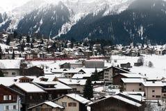Alpine Scene, Switzerland Stock Image