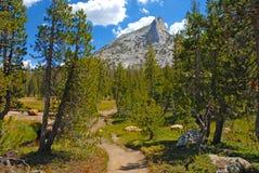 Alpine scene in Yosemite National Park, Sierra Nevada Mountains, California Stock Photos
