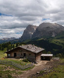 Alpine scenery Royalty Free Stock Images