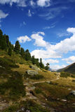 Alpine scenery Stock Photography