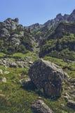 Alpine scenery, Bucegi Mountains, Romania Royalty Free Stock Photos