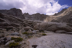 Alpine scenery in California mountains Stock Images