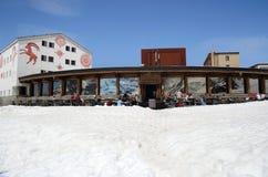 Alpine scenery at Diavolezza Royalty Free Stock Photo
