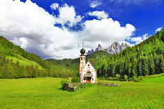 Alpine scenery Stock Photo