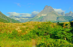 Alpine scenery of the Glacier National Park Royalty Free Stock Photography