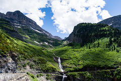 Alpine scenery in Glacier National Park, USA Royalty Free Stock Photo