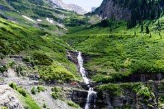 Alpine scenery in Glacier National Park, USA Stock Photo
