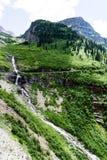 Alpine scenery in Glacier National Park, USA Stock Photos