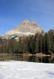 Alpine scenery at Misurina Royalty Free Stock Photos