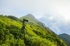 Alpine scenery from Taiwan Royalty Free Stock Photography