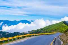 Alpine scenery from Taiwan Stock Photography