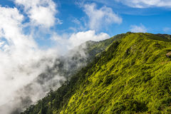 Alpine scenery from Taiwan Stock Photos