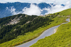 Alpine scenery from Taiwan Royalty Free Stock Photo