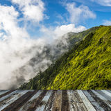 Alpine scenery from Taiwan Royalty Free Stock Images