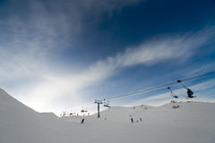 Alpine scenic Royalty Free Stock Photos
