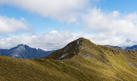 An alpine section of the Kepler Track Stock Photos
