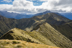 An alpine section of the Kepler Track Stock Images
