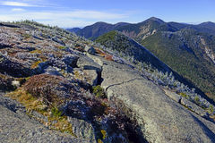 Alpine setting in the Adirondack Mountains,  New York State Royalty Free Stock Images