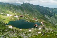 Alpine settlement Royalty Free Stock Photo
