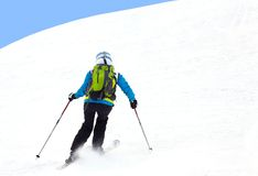 Alpine ski Royalty Free Stock Image