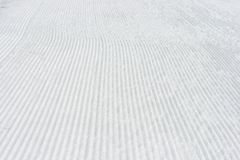 Alpine ski snow trace background Stock Photo