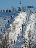 Alpine skier Royalty Free Stock Image