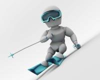 alpine skiing Στοκ φωτογραφία με δικαίωμα ελεύθερης χρήσης